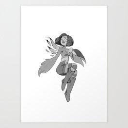 Inktober Day 06 Art Print
