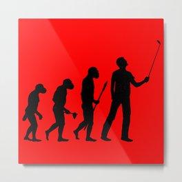 Human Evolution? Metal Print