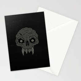 MAGIC SWAMP BLACK MANA SKULL Stationery Cards