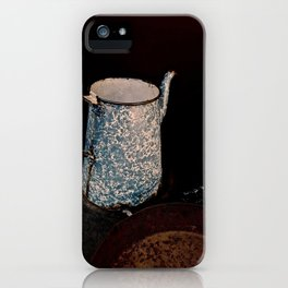Coffee Pot, Haunted Stove- Hell's gate, B.C. iPhone Case