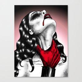 Crime Of Passion Canvas Print