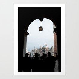 Piazza San Marco, Venezia Art Print