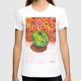 Watercolor Apple T-shirt
