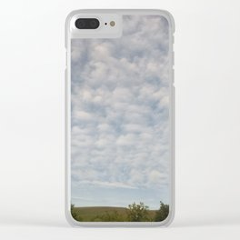 sky tracks Clear iPhone Case