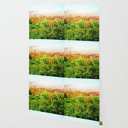 Catanzaro: green and buildings Wallpaper