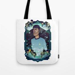 Mister Spock Tote Bag