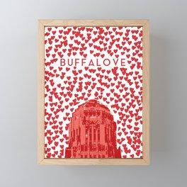 BUFFALOVE Framed Mini Art Print