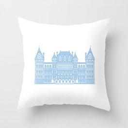 NYS Capitol Building #2 Throw Pillow