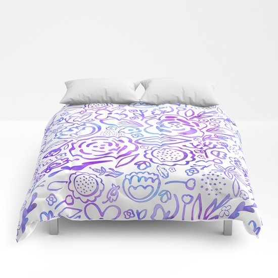 A Profusion of Flowers Comforters