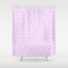 Honeycomb Doily  Shower Curtain