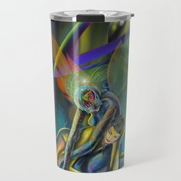 Avatars (Closeup) Travel Mug