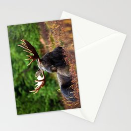 Relax Moose Stationery Cards