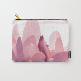 Fly Dolphin In The Sky Carry-All Pouch