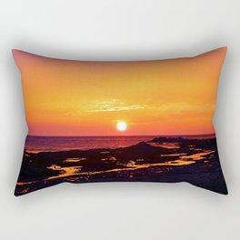 Orange Morning Rectangular Pillow