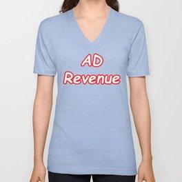 MEME Supreme ad revenue Unisex V-Neck