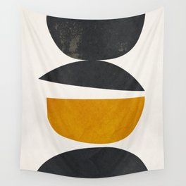 abstract minimal 23 Wall Tapestry