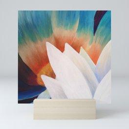 Juxtaposed Flowers Mini Art Print
