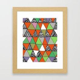 Triangle 2 Framed Art Print