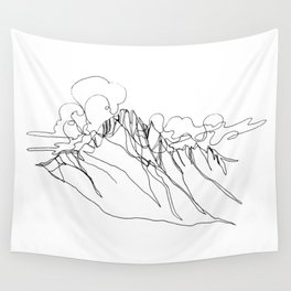 Alpha - Single Line Wall Tapestry