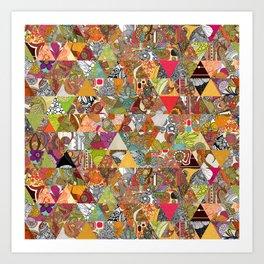Like a Quilt Art Print