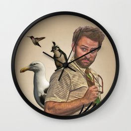 Charlie Kelly: Attorney at Bird Law - Always Sunny - Fan Art Wall Clock