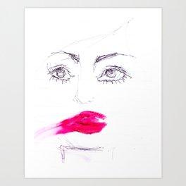 Smear Art Print