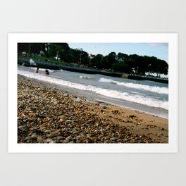 Lake Michigan Beach Art Print