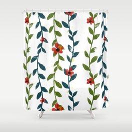 flower liane Shower Curtain