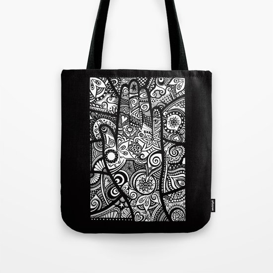 The hand of righteousness Tote Bag