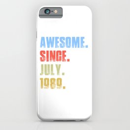Awesome Since  iPhone Case