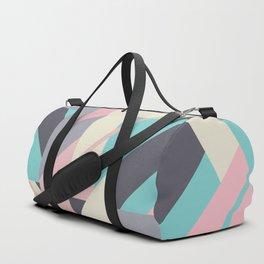 Delicious retro geometric Duffle Bag
