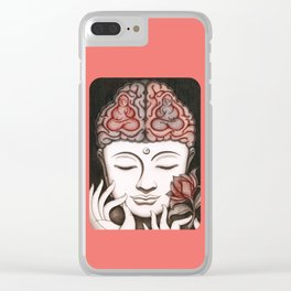 How meditation changes your brain... and makes you wiser? Clear iPhone Case