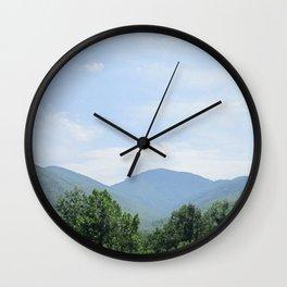 Tennessee Smokies Wall Clock
