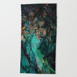 Belly Dance Beach Towel