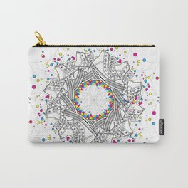 Mandala shoes Carry-All Pouch