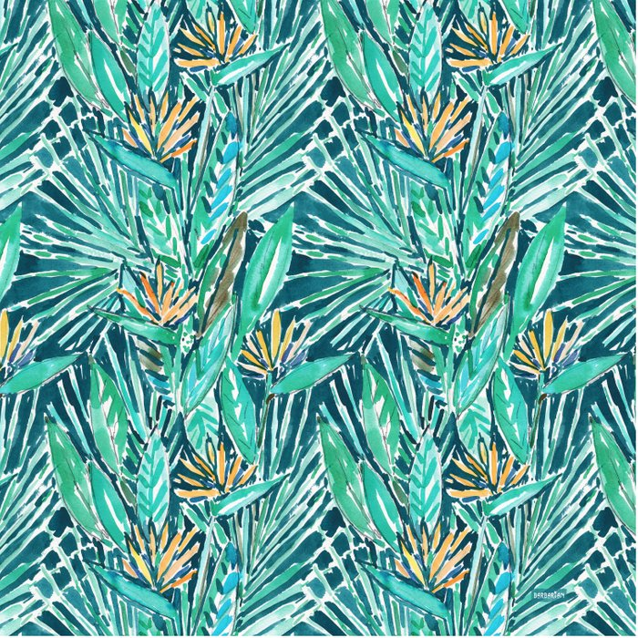 TROPICAL BIRDS OF PARADISE Comforters