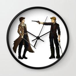 AU: Isla de Vida Wall Clock