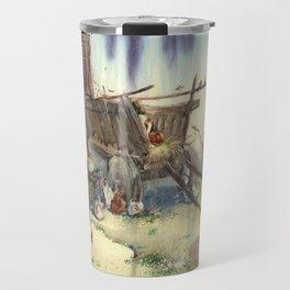Peasant yard Travel Mug