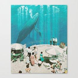 BLUE BEYOND Canvas Print