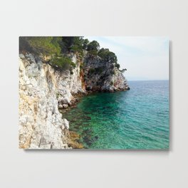 Skopelos Sea Metal Print