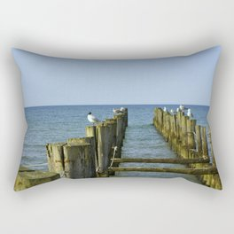 Pilings Rectangular Pillow