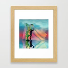 just a little dance -b- Framed Art Print