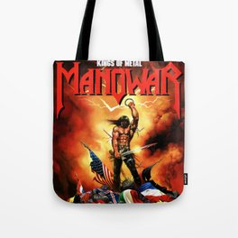 manowar king of metal putro Tote Bag