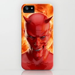 The devil iPhone Case