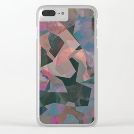 Camouflage XXIV Clear iPhone Case