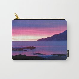 Winter's Dawn on the Coast Carry-All Pouch