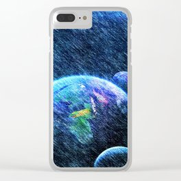 Far out there Clear iPhone Case