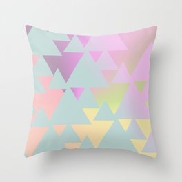 Mall Sunrise Throw Pillow