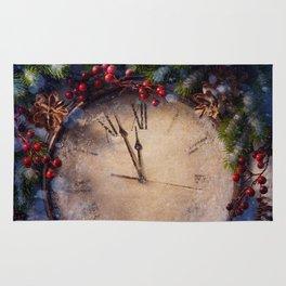 Frozen time winter wonderland Rug