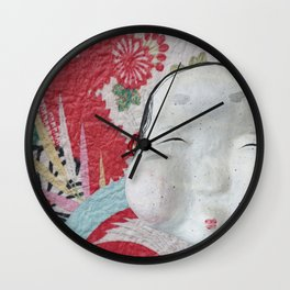 Smile Your Way Through (Japanese Goddess of Mirth) Wall Clock